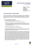 Download: Terms and Conditions of Commercial Sale